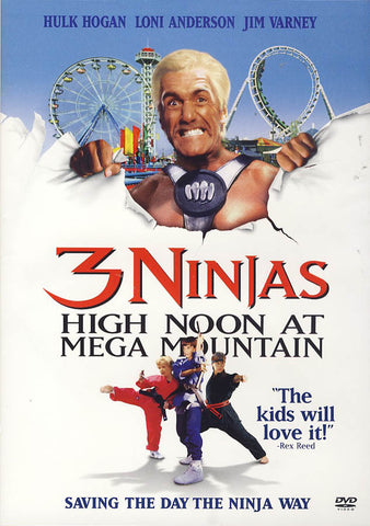 3 Ninjas High Noon at Mega Mountain (Hulk Hogan cover) DVD Movie