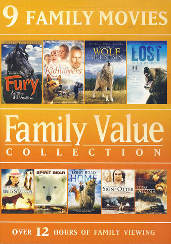 9 Family Movies - Family Value Collection (Value Movie Collection) DVD Movie