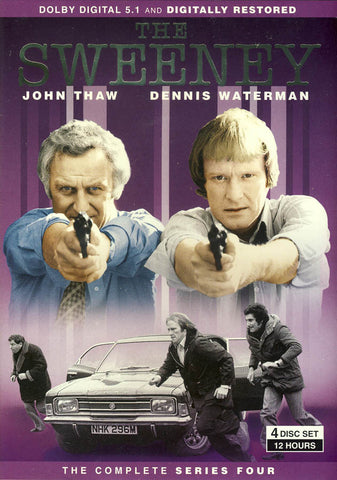 The Sweeney - Complete Series Four (Boxset) DVD Movie