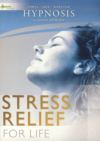 Hypnosis - Stress Relief For Life (By Susan Hepburn) DVD Movie