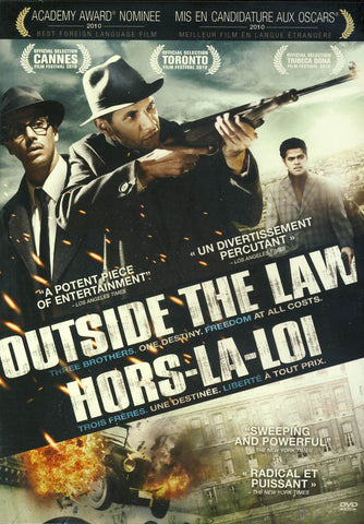 Outside the Law / Hors-la-loi (Bilingual) DVD Movie