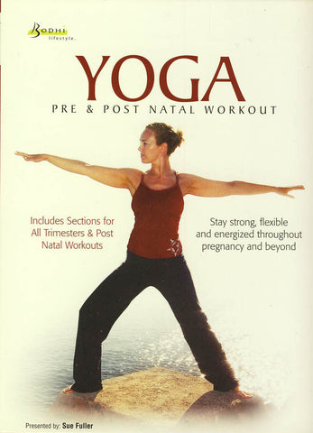Yoga - Pre and Post Natal Workout DVD Movie