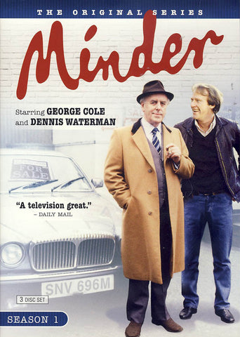 Minder - Season One (Boxset) DVD Movie