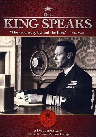 The King Speaks ( the story behind The King s Speech) DVD Movie