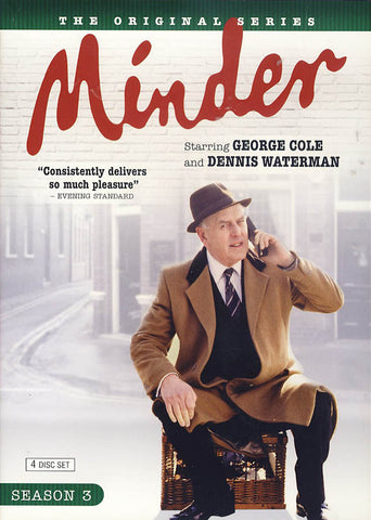 Minder - Season Three (3) (Boxset) DVD Movie