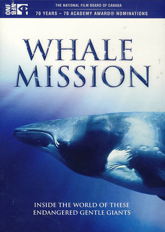 Whale Mission DVD Movie