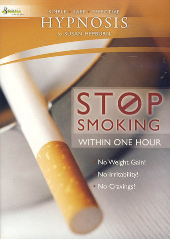 Hypnosis - Stop Smoking Within One Hour DVD Movie