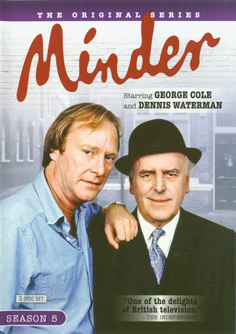 Minder - Season Five (5) (Boxset) DVD Movie