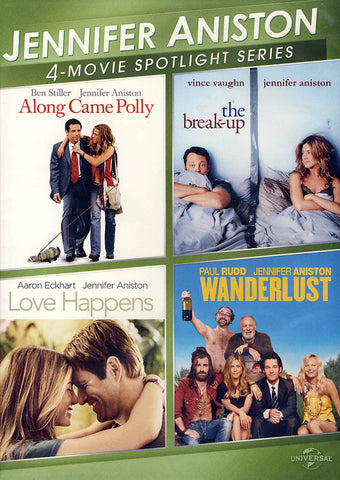 Jennifer Aniston 4-Movie Spotlight Series DVD Movie