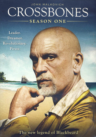 Crossbones: Season 1 DVD Movie