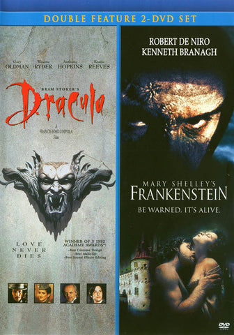 Bram Stoker's Dracula/Mary Shelley's Frankenstein (Double Feature) DVD Movie