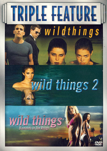 Wild Things/Wild Things 2/Wild Things: Diamonds in the Rough DVD Movie