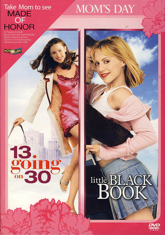13 going on 30/Little Black Book (Double Feature Mother s Day Release) DVD Movie