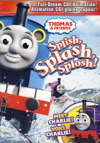 Thomas & Friends: Splish, Splash, Splosh! (Bilingual) DVD Movie