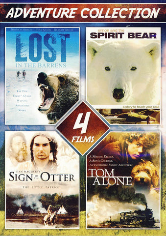 4-Film Adventure Collection (Value Movie Collection) DVD Movie