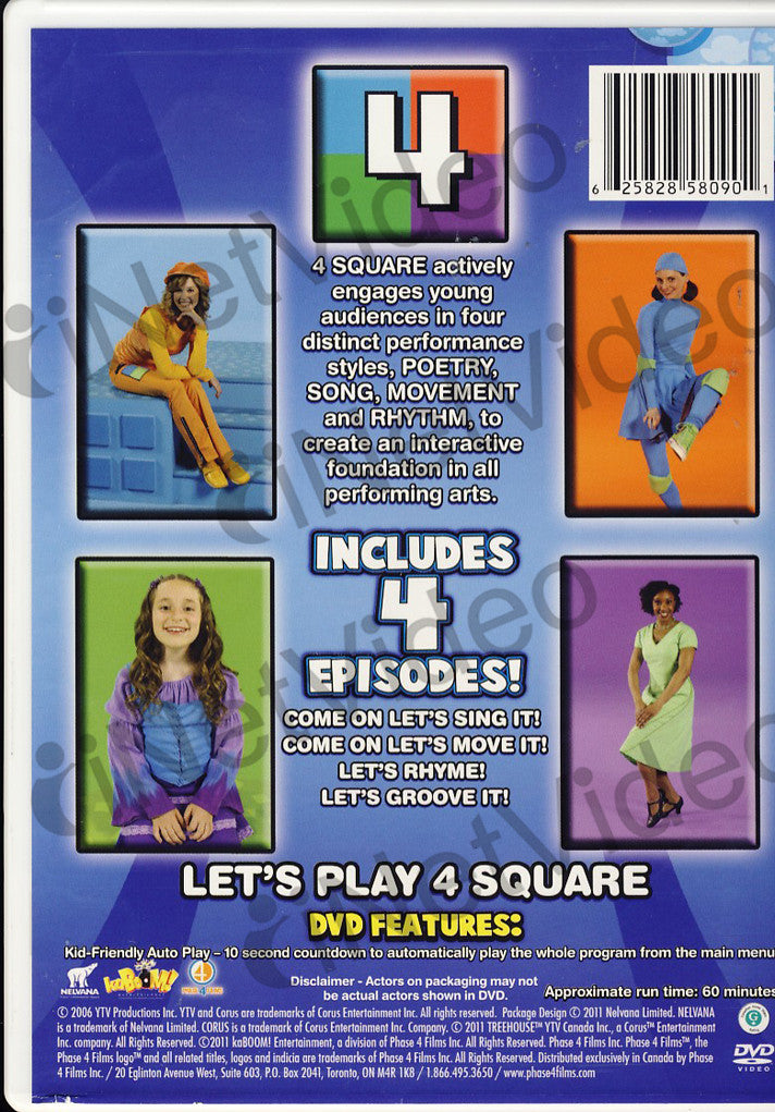 The best of 4 square on dvd movie for 4 sq
