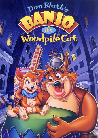 Banjo the Woodpile Cat (Don Bluth) DVD Movie