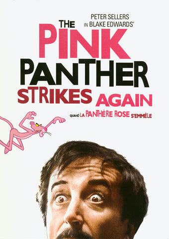 The Pink Panther Strikes Again (White Cover) (Bilingual) DVD Movie