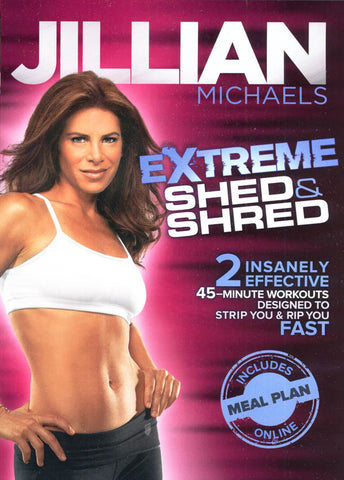 Jillian Michaels Extreme Shed & Shred DVD Movie