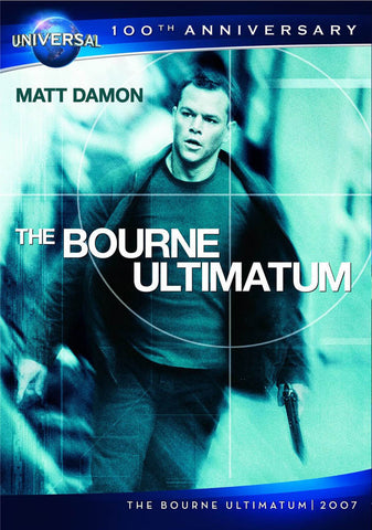 The Bourne Ultimatum (Universal's 100th Anniversary)(Slipcover) DVD Movie