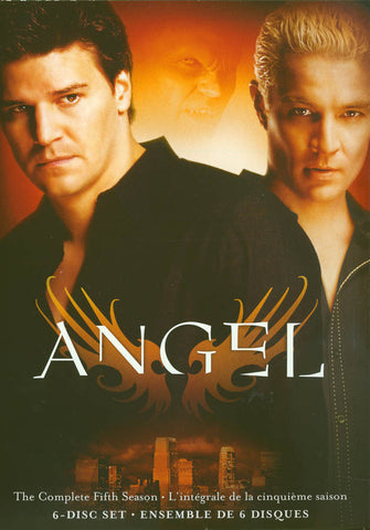 Angel : Season 5 (Bilingual) DVD Movie