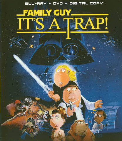 Family Guy: It's A Trap (Blu-ray+DVD)(Blu-ray) BLU-RAY Movie