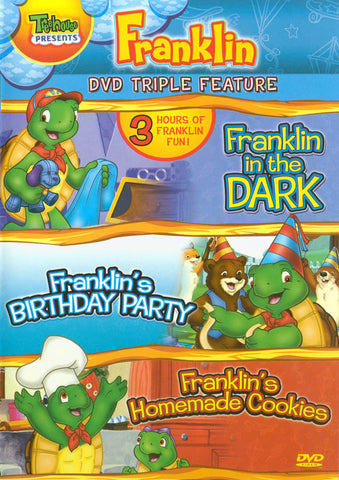 Franklin in the Dark/Franklin's Birthday Party/Franklin's Homemade Cookies (Triple Feature) DVD Movie