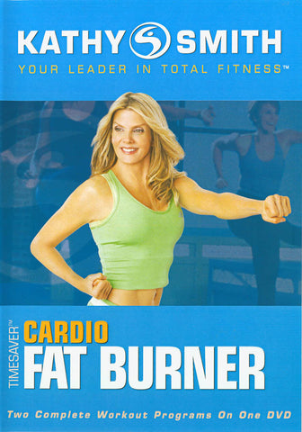 Kathy Smith - Timesaver - Cardio Fat Burner (Blue Cover) (MorningStar) DVD Movie