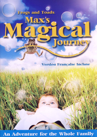 Frogs And Toads - Max s Magical Journey (Bilingual) DVD Movie