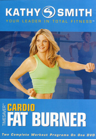 Kathy Smith - Timesaver - Cardio Fat Burner (Blue Cover) (Lionsgate) DVD Movie