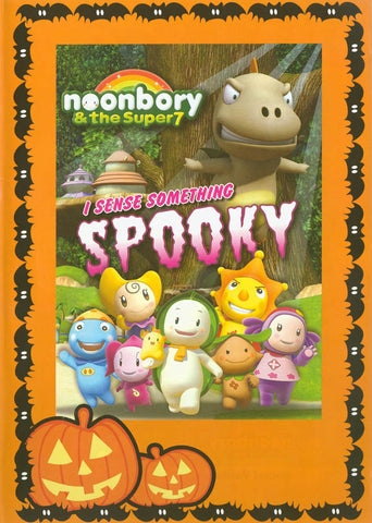 Noonbory - I Sense Something Spooky (orange border) DVD Movie