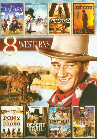 8-Movie Western Pack Vol. 6 DVD Movie