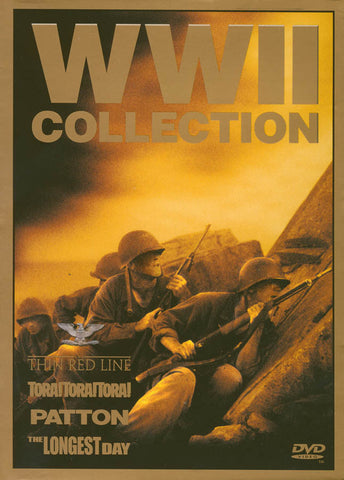 World War II Collection (The Thin Red Line / Patton / Tora! Tora! Tora! / The Longest Day) (Boxset) DVD Movie