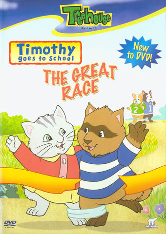 Timothy Goes To School - The Great Race (Treehouse) DVD Movie