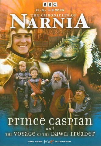 The Chronicles of Narnia: Prince Caspian and The Voyage of the Dawn Treader (Blue cover) DVD Movie