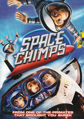 Space Chimps DVD Movie
