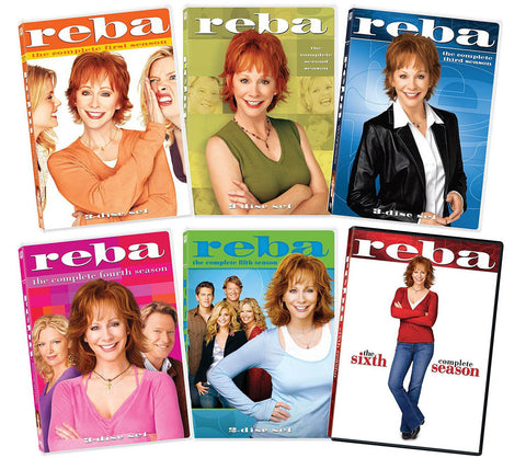 Reba - The complete Series - Seasons 1-6 (6 Pack) (Boxset) DVD Movie