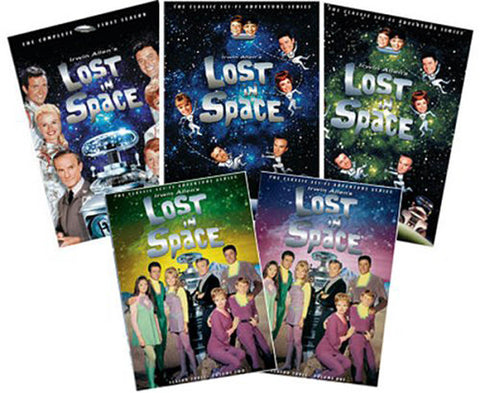 Lost in Space - The complete Series - Seasons 1 - 3 (5 Pack) (Boxset) DVD Movie