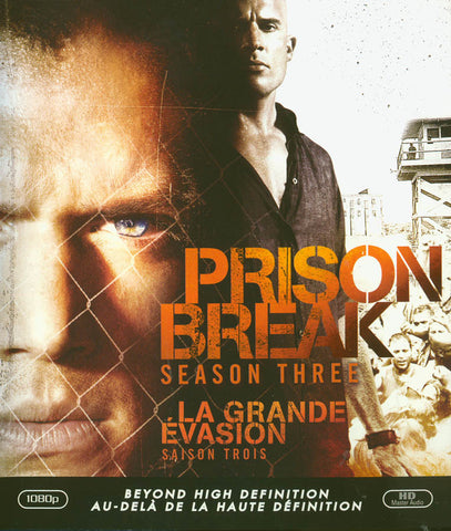 Prison Break: Season 3 (Bilingual)(Blu-ray) BLU-RAY Movie