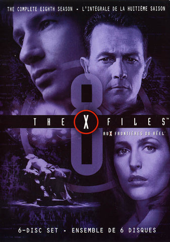 X-Files Season 8 (Bilingual) DVD Movie