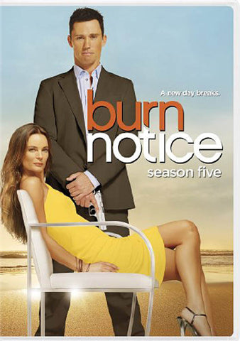 Burn Notice: Season 5 DVD Movie