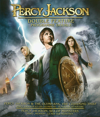 Percy Jackson & Olympians: Double Feature (Bilingual)(Blu-ray) BLU-RAY Movie