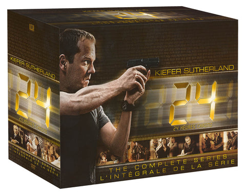 24: The Complete Series Collection (Bilingual)(Boxset) DVD Movie