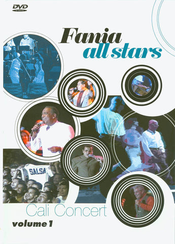 Fania All Stars - Cali Concert - Volume 1 DVD Movie