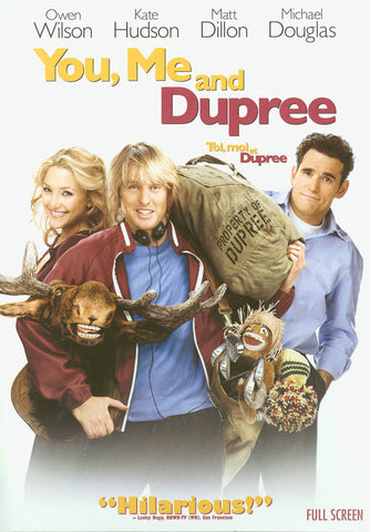 You, Me and Dupree (Bilingual)(Full Screen Edition) DVD Movie