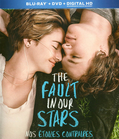 Fault In Our Stars (Blu-ray + DVD + Digital Copy) (Bilingual) (Blu-ray) BLU-RAY Movie