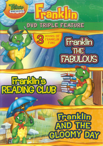 Franklin Triple Feature - Franklin the Fabulous / Franklin's Reading Club / Franklin and the Gloomy DVD Movie