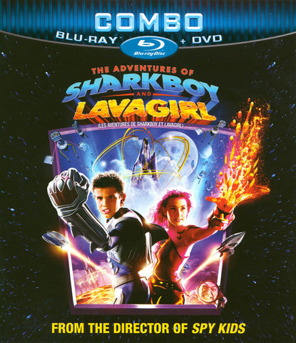 The Adventures of Sharkboy and Lavagirl (Blu-ray+DVD)(Bilingual) (Blu-ray) BLU-RAY Movie