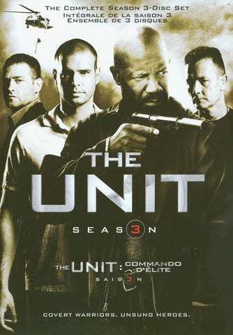 The Unit - Season 3 (Bilingual) DVD Movie