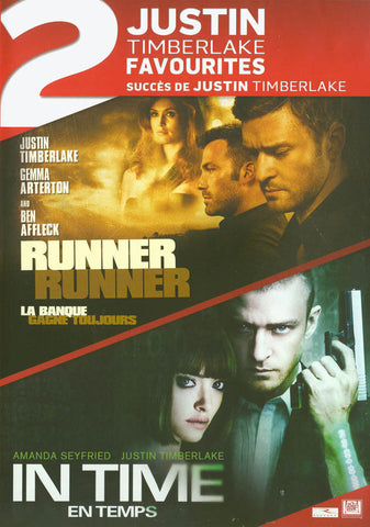 Runner Runner / In Time (Justin Timberlake Double Feature) (Bilingual) DVD Movie